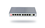 10/100M 9-port AI PoE switch