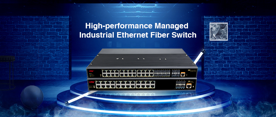 With the continuous expansion of industrial big data construction, the demand for monitoring data transmission equipment in various industries is increasing.  At the same time, how to choose a managed industrial Ethernet switch, that meets monitoring network architecture has higher requirements.   Optical Network Video [ONV PoE switch brand] has launched a high-performance 28/36-port 1/10G managed industrial Ethernet fiber switch for the current market demand. Their models are: ONV-IPS33026FM 24*10/100/1000M RJ45 ports and 4*100/1000M SFP+fiber slot ports (2 set combo ports) ONV-IPS36028FM 24*10/100/1000M RJ45 ports and 4*1/10G SFP+ fiber slot ports ONV-IPS36036FM 24*10/100/1000M RJ45 ports and 8*100/1000M SFP fiber slot ports and 4*1/10G SFP+ fiber slot ports.   The 28/36-port 1/10G managed industrial Ethernet switch complies with FCC, CE, and RoHS standards. They are available in a variety of combinations, including Fast Ethernet and fiber optic SFP port, with 24*10/100/1000M RJ45 ports and 4*1/10G SFP+ slot ports for increased flexibility in designing networks and applications. This series of Industrial switches supports port-based VLAN, 802.1Q-based VLAN, QoS, IGMP Snooping, RSTP, broadcast storm suppression, port aggregation, port mirroring, port management, SNM, Web, CLI, SNMP, Telnet, NTP, etc. The management method is better to provide a safe and reliable solution for the establishment of fast and stable remote terminal access networks for industrial automation, rail transit, video surveillance, and other harsh industrial environment applications.   The industrial Ethernet fiber switches can be set up to set up a fast recovery self-healing ring network with each port. The self-healing time is less than 50ms, which provides a powerful guarantee for users' network security. The working temperature is -40°C ~ 85°C, adapt to a variety of harsh industrial environments. The industrial switches can be placed in the control box. Rail mounting, IP40 casing and LED indicators to make it a plug-and-play industrial-grade device that provides a reliable and convenient solution for networking Ethernet devices.