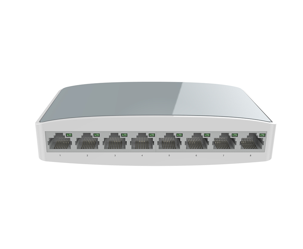 10/100M 8-port Ethernet switch